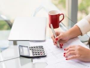 Tax return calculations